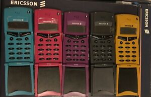 ERICSSON T10 front cover housing facia with flip+keyboard NEW & Original