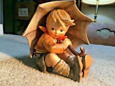"Hummel Figurine - Umbrella Boy - #152/O/A - Tmk 4 - 5"" T. - Crazing - Nm - Hum19"