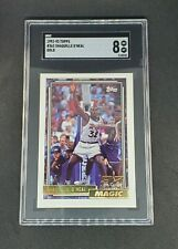 New listing Shaquille O'Neal 1992-93 Topps Gold Rookie Card #362 SGC 8 Shaq