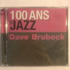 100 ans de Jazz Dave Brubeck 2 cd neuf sous blister