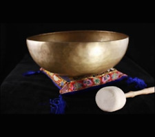 Tibetan Singing Bowl Set - Dewa - 10.5cm  280 g cm diameter Hand hammered