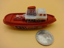 Galgo Argentina #27 Red Cleveland Police Launch Boat - Loose & Nice