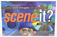 Scene It? The DVD Game Family/ Friends Board Game Movie Trivia New Sealed Mattel