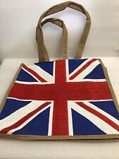 Union Jack Flag Hessian BREXIT Bag Bulk Box of 20