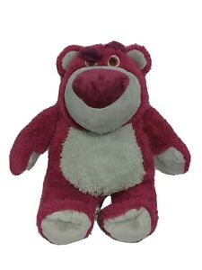 Disney Toy Story Lotso Plush Toy Stuffed Bear Strawberry Scented Red