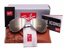 Ray Ban Aviator Unisex Sunglasses SILVER_POLARISED SILVER MIRROR 3025 003/59 58
