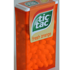 Tic Tac Orange Flavour 1 Box Contains 20 White Candies Pack of 24