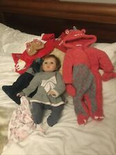 Gorgeous Little Girl Baby Doll With Baby Outfits Real Newborn Size