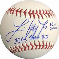 Luis Ortiz signed baseball BAS Beckett Baltimore Orioles autographed