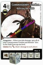 046 COMMISSIONER GORDON: Rallying... -Common- WORLD'S FINEST Marvel Dice Masters