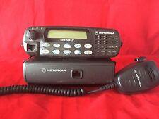 Motorola UHF CDM1550 LS+ 40 watt 16 channel mobile Remote Mount 406-470 MHz