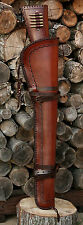 Handmade Leather Rifle Western Saddle Scabbard Winchester Henry Marlin