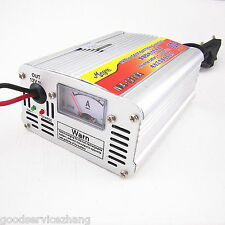 12V 50AH-105AH 10A Car Battery Charger Battery Charger Lead Acid Charger EU