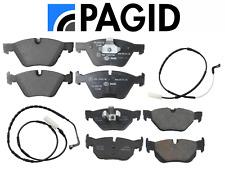 Front Brake Pads & Rear Brake Pads OEM Pagid + Sensors BMW E90 E92 325xi 328xi