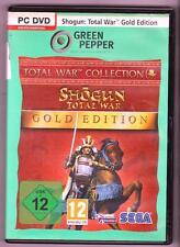 Shogun TOTAL WAR ORO Edition + Addon Mongol invasione enormi eserciti GIOCO PC