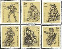 DDR 2347-2352 (kompl.Ausgabe) postfrisch 1978 Kupferstiche