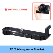 1 X Mini Size High Quality R016 Microphone Bracket Suit for Canon G7X Mark III