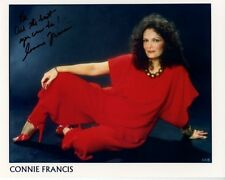 CONNIE FRANCIS Signed Autographed Photo GREAT CONTENT~