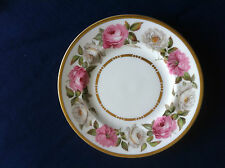 """Royal Worcester Royal Garden (dots & dashes) 6 1/8"""" side plate (minor scratches)"""