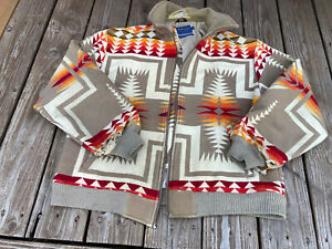 VTG Pendleton AS IS Western Wear Chief Joseph Bomber Jacket  xl Fabric Cutter