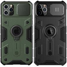 NILLKIN Camshield Cover For iPhone 12 11 7 8 Ring Holder Slide Camera Armor Case