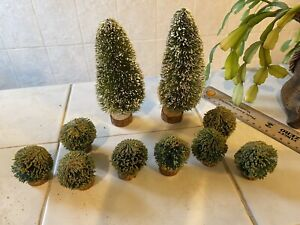 Dolls House Selection Of Garden Items Trees And Shrubs Topiary Bundle Lot 1.12