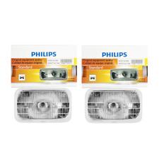 2 PCS Philips Headlight Bulb For 1989-1991 Chevrolet Blazer Low Beam Lamp