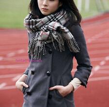 Cappotti e giacche da donna grigi senza marca in lana