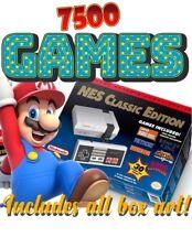 MODDED 7,500+ Nintendo NES Classic Edition Mini Console SNES, NES, SEGA
