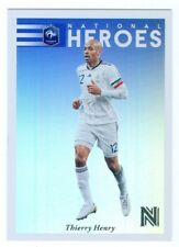 "THIERRY HENRY ""NATIONAL HEROES CARD #8"" PANINI NOBILITY SOCCER 2017"