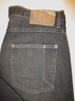 Nautica Loose Fit Jeans Mens Straight Leg Black Denim Size 34 x 32  Mint