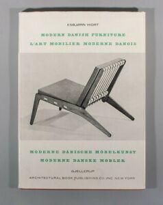 Rare Esbjorn Hiort Mobilier Modern Danois - Modern Danish Furniture wegner juhl
