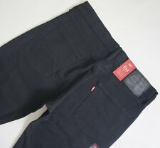LEVI'S 514 BLACK STRAIGHT LEG Jeans Men's, Authentic BRAND NEW (005140893)