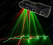 600mw 4 Lens RG Green Red Laser stage Light DJ Show Disco Light projector DMX
