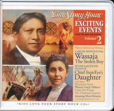 New YOUR STORY HOUR EXCITING EVENTS Series Volume 2 3 CD Audio Set Native Indian