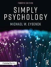 Simply Psychology by Eysenck, Michael W., NEW Book, FREE & FAST Delivery, (Paper