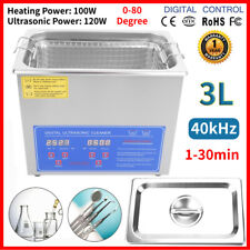 VEVOR JPS-20ACSBQXJ0001 3L Stainless Steel Ultrasonic Cleaner