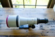 Canon 600mm f/4.5 FD with PL mount