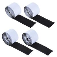 Guitar Pedalboard Pedal Mounting Tape Fastener Length 4-Pack (2Hook+2Loop) W6J9