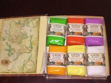 6 X Savon Des Isles By Anne De Peroudel *Livre De Bord* French Soap Vintage New