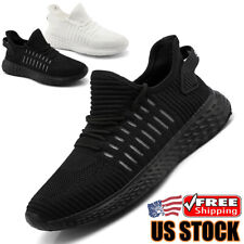 Men's Sneakers Lightweight Sports Jogging Casual Running Shoes Tennis Athletic