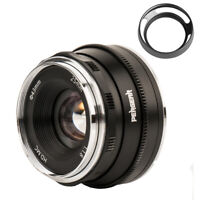 Pergear 25mm F1.8 Large Apeture Manual Focus Lens for Fuji X-A1 X-A10 X-A2+ Bag
