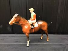 More details for vintage beswick no.12 racehorse and jockey model no.1862 for restoration