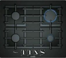 Bosch PPP6A6B90 Black Tempered Glass Gas Hob