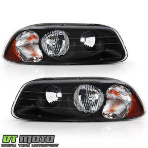 Mack Vision Pinnacle CX CXU CXN GU4 GU5 GU7 GU8 Black Headlights Headlamps Pair