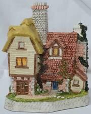 David Winter Plough Farmstead Cottage Signed COA Retired Guild Collection #19