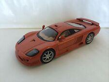 SALEEN S7 ORANGE 1:43 - DIECAST MODEL CAR COLLECTION - SPORT CARS IXO