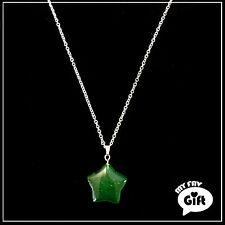 Semi-Precious Green Aventurine Natural Stone Necklace Jewelry (Anti-Allergic)