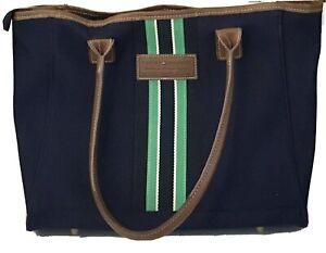 Tommy Hilfiger Large Tote Bag unisex laptop briefcase overnight preppie
