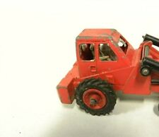 Dinky Toys # 437  Muir Hill 2WL Loader Tractor  2 REAR REPLACEMENT RUBBER TIRES